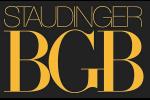 Staudinger, BGB