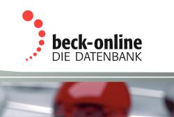 Beck-Online - die Datenbank