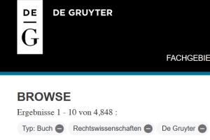 De Gruyter Online